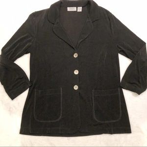Chicos Travelers | Button Down Cardigan Sz 1